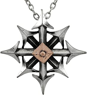 Chaos star pendant by of England, Silver