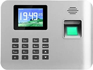 آلة الحضور والانصراف 2.8 بوصة الشاشة الذكية التعريفي بصمة وقت الحضور ساعة موظف جهاز الحضور