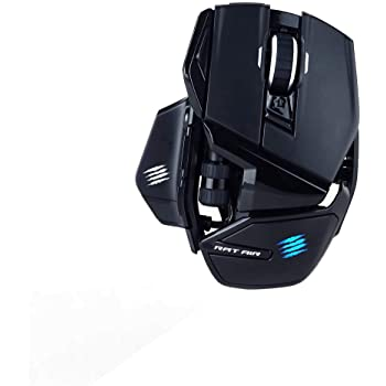 Mad Catz R.A.T. AIR Gaming Mouse (USB/Black/12000dpi/10 Buttons) - MR04DHINBL000-0