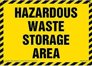 Hazardous Waste Storage Area Sign - J. J. Keller & Associates - 14