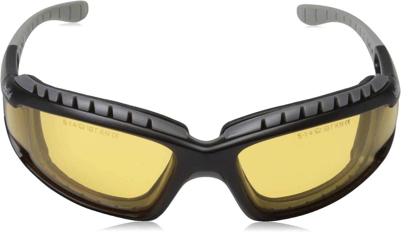 Correa y Brazos Bolle Tracker Sports Gafas de Seguridad Gafas con Lente Claro