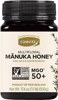 Comvita MGO 50+ Raw Multifloral Manuka Honey I New Zealand's #1 Manuka Brand I Authentic | Non-GMO Superfood for Everyday ...