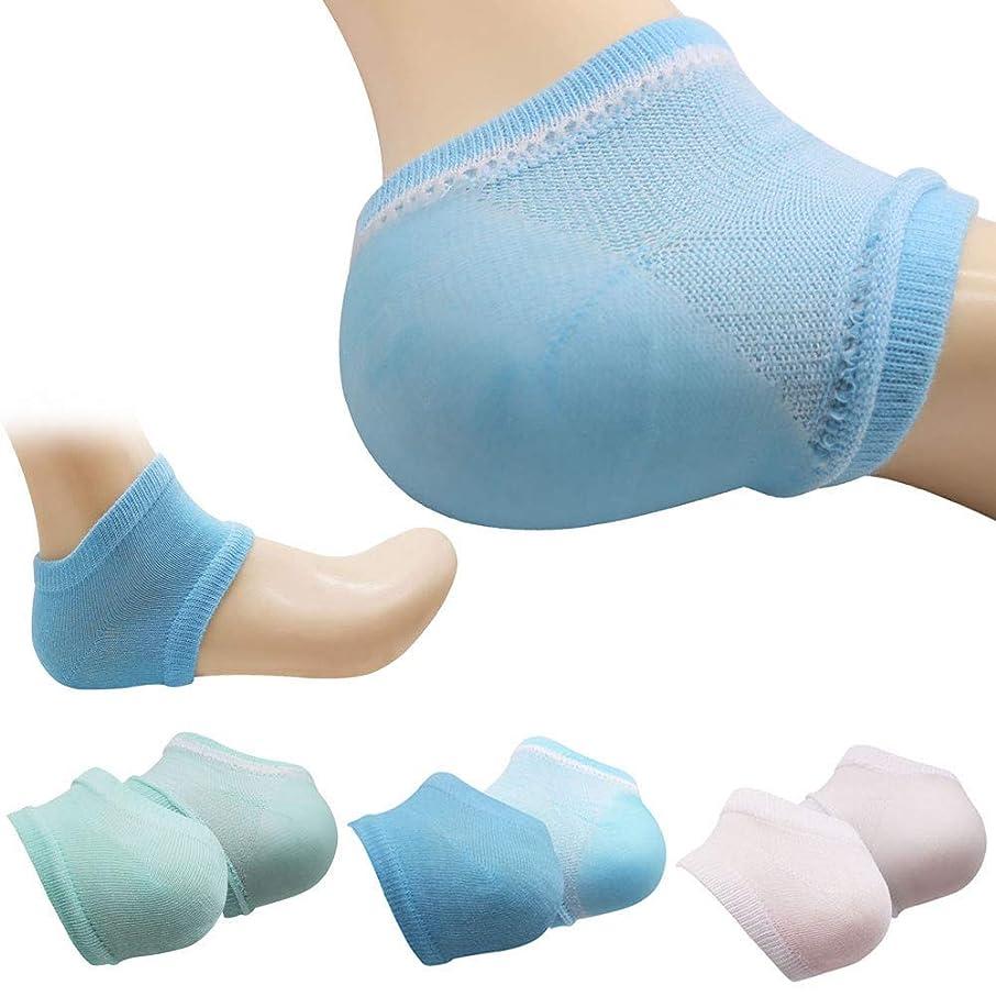 意外一時的運命的なK&TIME かかと 保湿ソックス かかと 靴下 ソックス かかとケア 靴下 角質ケア 滑らか スベスベ ツルツル ひび割れ ジェル 靴下 美容 足SPA 足ケア レディース フリーサイズ 3足セット
