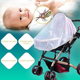 Yunnyp Insektennetz f/ür Kinderwagen Kinderwagen Moskitonetz Abdeckung Fliegen Insektenschutz f/ür Kinderwagen Buggy