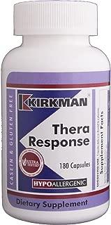 Kirkman Thera Response - Hypoallergenic   180 Vegetarian Capsules   Gluten and Casein Free   Multivitamin