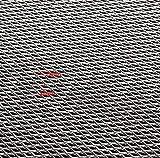 Cheng L Hojas de Aluminio 25x20cm Modelado de Alambre de Malla Grueso Fino/Medio/Grueso Proteccion (tamaño : 2mm)