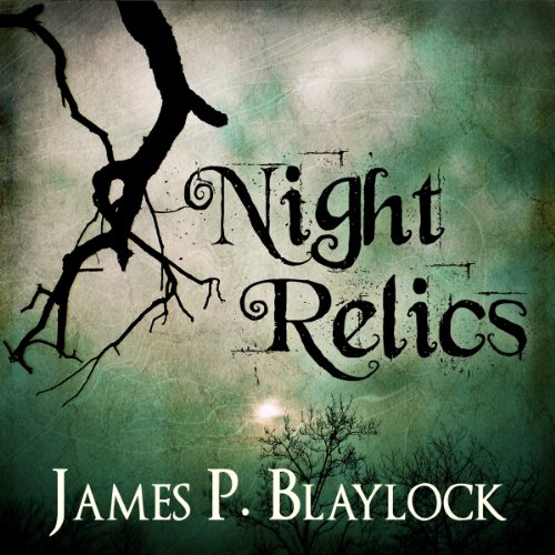 Night Relics audiobook cover art