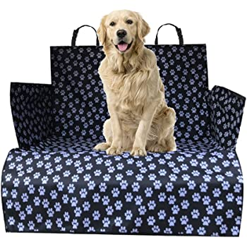WeFine Car Boot Liner for Dogs Universal Waterproof Car Boot Cover with Bumper Flap Fits Cars, 4x4, Estate, Trucks, Hatchback, SUV (Extra-Long)