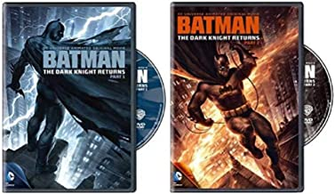 Batman: The Dark Knight Returns DC Comics Part 1 and Part 2 Set (Double Feature)