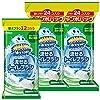 トイレ掃除 スクラビングバブル 流せる トイレブラシ 付け替え用60個セット (24個入り×2+12個入り) フローラルソープの香り まとめ買い 使い捨て 洗剤