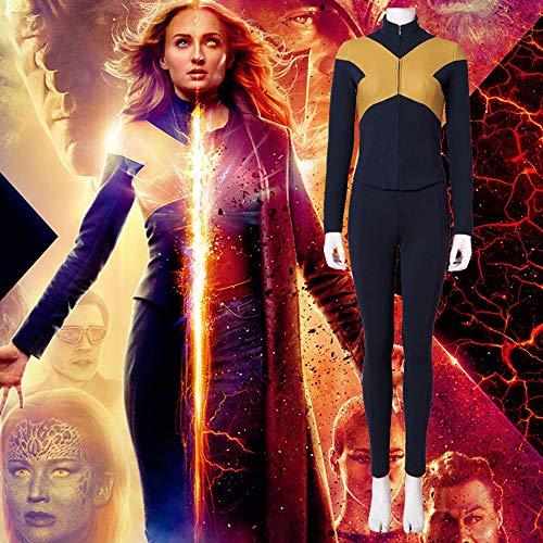 Lydia's Anime Cosplay Kleidung X-Men: Dark Phoenix Cosplay Weibliche Strumpfhosen Cosplay Kostüme Full Set Uniformen Für Halloween S