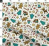 Lebkuchen, Weihnachten, Kekse, Schneemann, Winter, Urlaub,