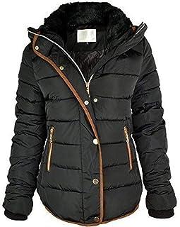 Hashoob Women Ladies Puffer Jacket Quilted Parka Coat BF-01