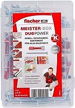 Meister-Box Dübelsortiment SX mit Schrauben 320-teilig+fischer 6mm sds Bohrer