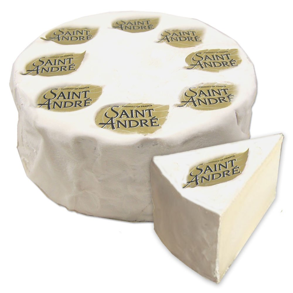 Saint Andre - Triple Cream New product type Max 41% OFF Cheese Soft-Ripened 4Lb-Whe Approx.