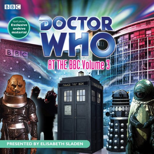 Doctor Who at the BBC, Volume 3 audiobook cover art