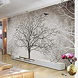 Rétro arbres abstraits branches grandes peintures murales 3D personnalisé photo papier peint salon canapé TV fond décoration murale papier peint, 350 * 245 cm