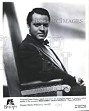 Historic Images - 1994 Press Photo Orson Welles in The Premiere of Biography: Orson Welles