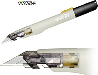 VViViD Premium Retractable Precision Balanced Multi-Use Utility Cutting Knife for Automotive Vinyl Wraps (1 Piece)