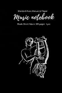 Music Notebook - Standard Music Manuscript Paper Lyre: Music Writing Notebook For Kids | Blank Sheet Music Notebook Lyre |...