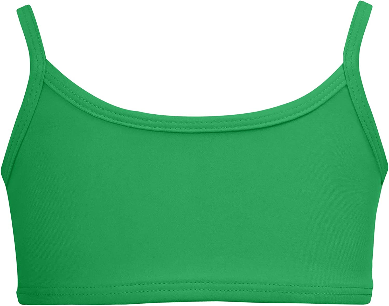 City Threads Girls Bikini Top Active Wear Guard UPF50+ 40% OFF Cheap Sale Rash Oklahoma Mall for