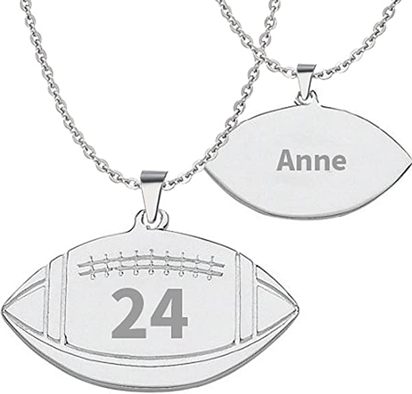 Solid 925 Sterling Silver Mens Fleur-de-Lis Dog Tag Curb Chain Necklace Charm Pendant Handmade by Dogstone