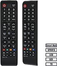 LuckyStar BN59-01199F TV Remote Control for Samsung Remote UN60J6200AF UN60J6200AFXZA UN60J620DAF UN60J620DAFXZA UN60JU6400F UN60JU6400FXZA UN50J6200AF UN43JU640DF UN32J4500AF UN32J525DAF