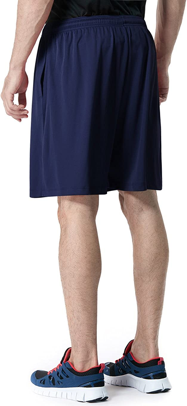 Gym Training Workout Shorts with Pockets Quick Dry Basketball Running Shorts 2 or 3 Pack Mens Athletic Mesh Shorts TSLA 1