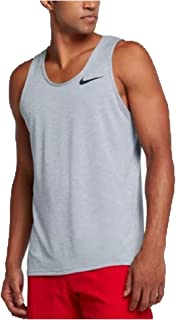 28c64aaab69eb Nike DRI-FIT Men's Breathe Training Tank Top Light Grey/Black