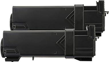 TONER EXPERTE® 593-10258 2 Negro (2000 páginas) Cartuchos de Tóner compatibles para DELL 1320 1320c 1320cn
