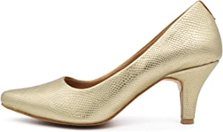 SHOOOZ Latest Belly Pencil Heels for Women and Girls
