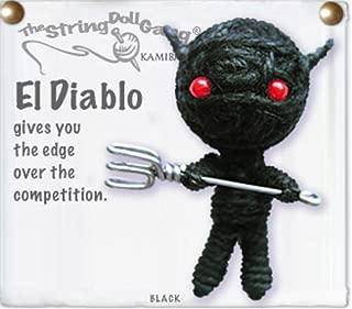 Kamibashi El Diablo the Devil The Original String Doll Gang Keychain Clip