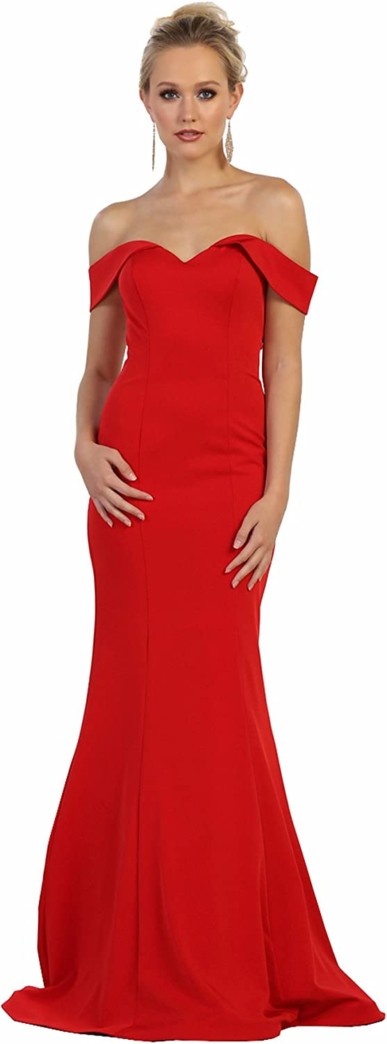 Formal Complete Free Shipping Dress Shops Max 53% OFF Inc. FDS1547 Simple Gown Mermaid Evening Prom