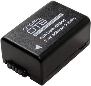OTB Acumulador Batería 800mAh para Panasonic Lumix DC-FZ82 subsituye: Panasonic DMW-BMB9E;