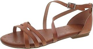 443a425822a324 Porronet Sandalette, Sandales pour Femme Marron Cuero
