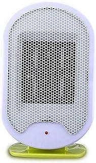 KDLD Calentador ® Calentador eléctrico vertical del ventilador Calentador eléctrico Hogar Ventilador Oficina Mini estudiante Calentador Radiador silencioso 500W