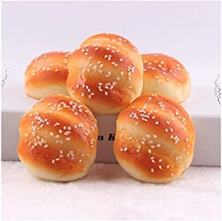 Play Food, Donut Simulation Model Kids Play Food, Artificial Bread Pretend Play Food for Pretend Role Playing Christmas Gi...