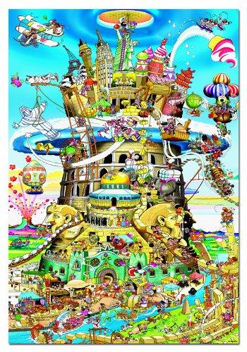 646772   Puzzle 1500 Pzas La Torre De Babel
