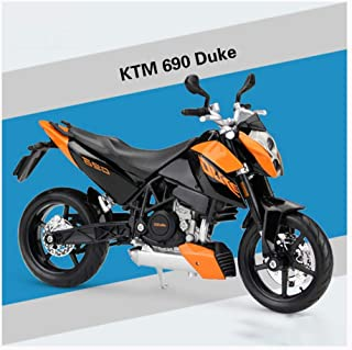Modèle Moto 1:12 KTM 690 Duke Noir Orange-Maisto