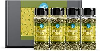 Marca Amazon - Happy Belly - Semillas de hinojo secas, 4x25g