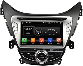 KUNFINE Android 9.0 Otca Core 4GB RAM Car DVD GPS Navigation Multimedia Player Car Stereo for Hyundai Elantra/Avante / IX35 2011 2012 2013 Steering Wheel Control 3G WiFi Bluetooth Free Map Update