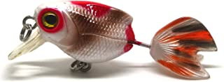 5cm Fishing Lure Bait Swimbait Life-Like Goldfish Fly Fishing Flies New