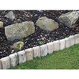 Kingfisher LOG2 - Rollo de Troncos para jardín, 23 cm, Color...