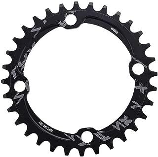 Alomejor Bike Chain Ring Single Chainring 32T 34T 36T 38T 104 BCD Bike Narrow Wide Chainrings for Bicycle Road Bike Mountain Bike BMX MTB Fixie Track Fixed