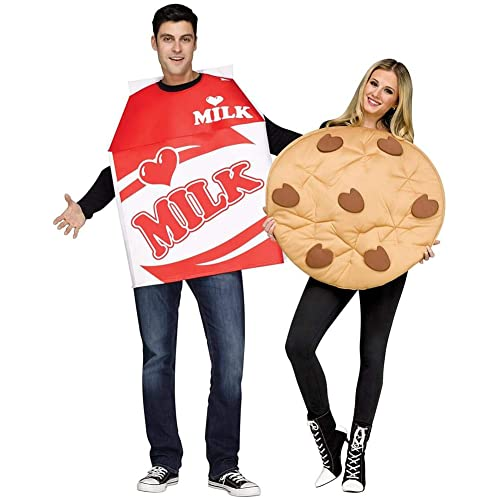Fun World Cookies and Milk Adult Costume