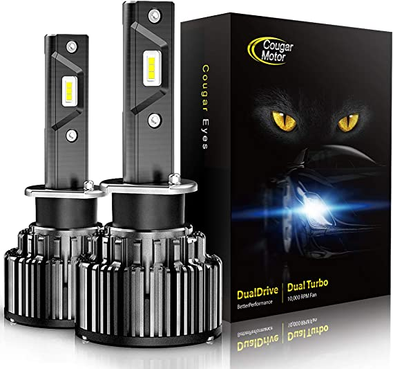 Cougar Motor H3 LED Headlight Bulbs