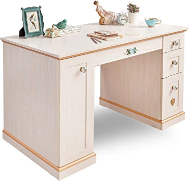 dafnedesign. com–Bureau de Chambre pour fille ou petite fille–une bureau avec de nombreux tiroirs–adapté à une chambre