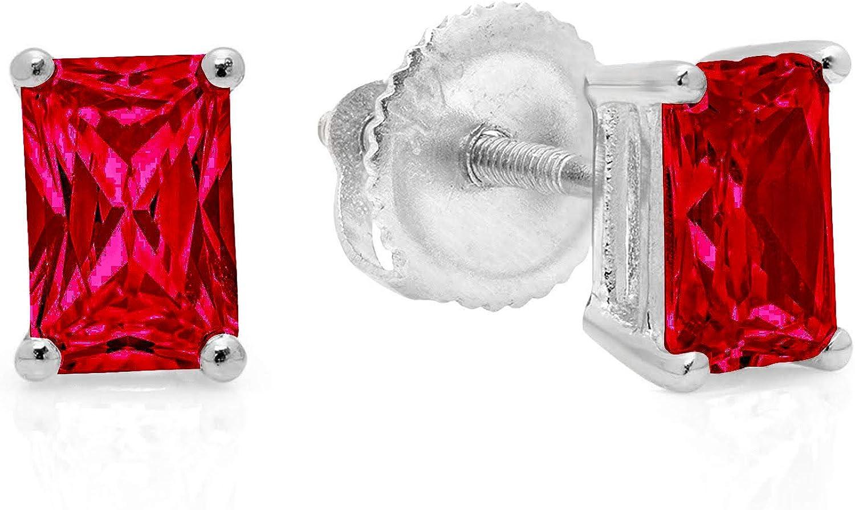 Clara 1 year warranty Fashionable Pucci 1.0 ct Brilliant Solitaire Emerald VVS1 Flawless Cut