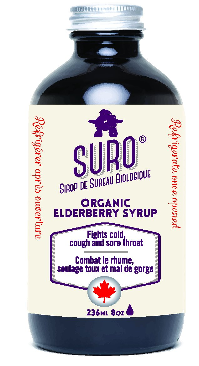 Organic Elderberry Syrup Sales Max 56% OFF for sale Adults ml Suro Brand: 236