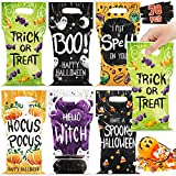 78 Pcs Halloween Trick or Treat Bags for Trick-or-Treating, Halloween Candy Party Favors for kids,...